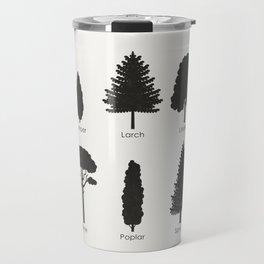 European Tree Species Travel Mug