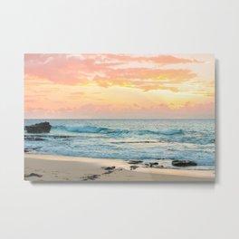 Honolulu Sunrise Metal Print