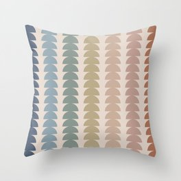 Maude Pattern- Vintage Multicolor Throw Pillow