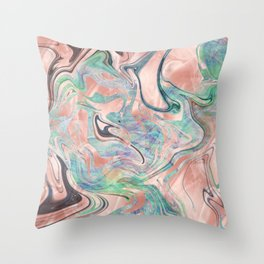 Mermaid 1 Throw Pillow