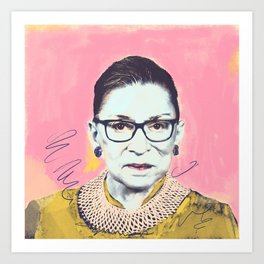 What Would RBG Do (4/6) Art Print