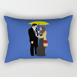 Ted and Tracy Rectangular Pillow