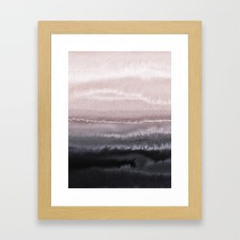 WITHIN THE TIDES BLACK SAND BEACH by Monika Strigel Framed Art Print