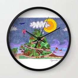 Granada, Nicaragua Wall Clock
