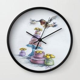 Rufio Takes the Cake, AKA Happy Hummingbird Party Wall Clock