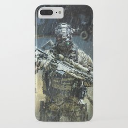 Night time Sniper Hunting iPhone Case