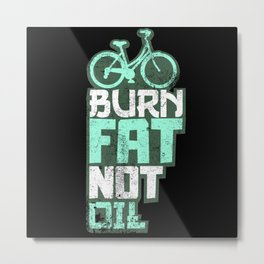 Bicycle Sport Fitness Bike Metal Print