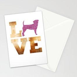 Love Puggle Stationery Cards