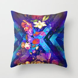 Verdant Lush Throw Pillow