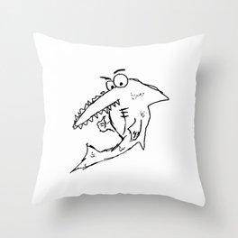 Sea Saw Throw Pillow