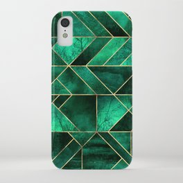 Abstract Nature - Emerald Green iPhone Case