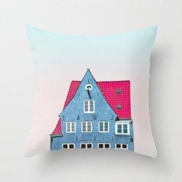 Copenhagen, Denmark Throw Pillow