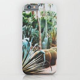 The Flora Of The Majorelle Garden iPhone Case