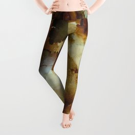 Alcohol Ink 'The Storybook Series: The Little Match Girl' Leggings