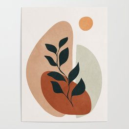 Soft Shapes II Poster