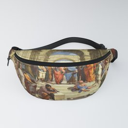 School Of Athens Painting Fanny Pack