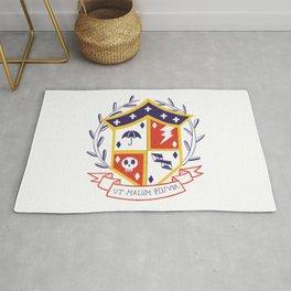 The Umbrella Academy Shield Rug