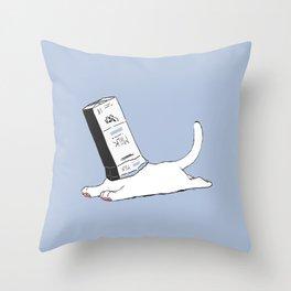 Meow Milk Throw Pillow