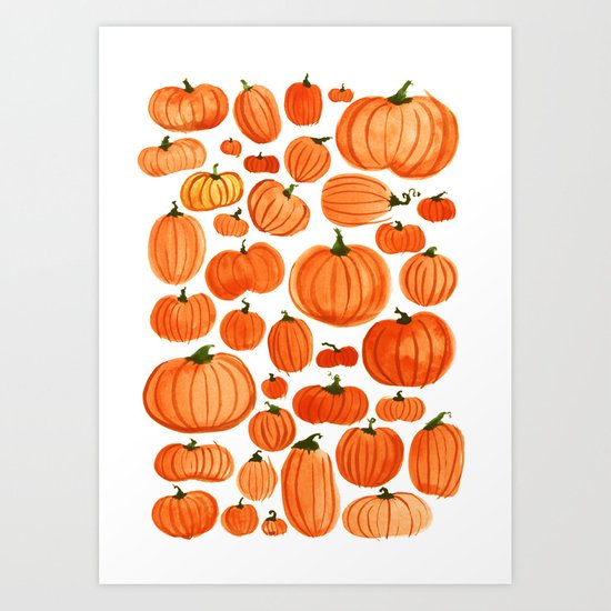 Pumpkins by howgroenwasmyvalley