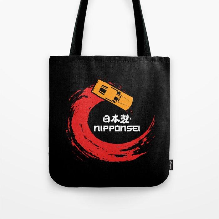 Japanese Car Shirts jdm hatchback Tote Bag