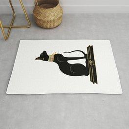 Egyptian Cat Sphynx Rug
