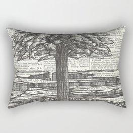 Guardian of the Riverbank Rectangular Pillow