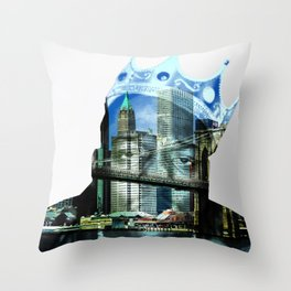 Notorious B.I.G. Throw Pillow
