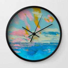 la mer in summer  Wall Clock
