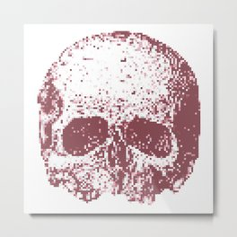Rosy Cheeks Metal Print