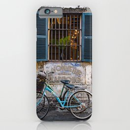 Savonnerie and Bicycles, Hoi An Ancient Town, Vietnam iPhone Case