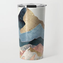 Golden Peaks Travel Mug