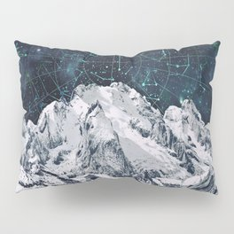Constellations over the Mountain Pillow Sham