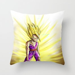 SSJ2 Gohan Throw Pillow