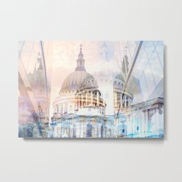 Saint Paul's Cathedral London Metal Print