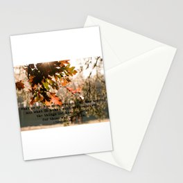 1 Corinthians two nine #bibleverse #inspirational Stationery Cards
