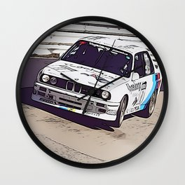M Nordschleife Wall Clock