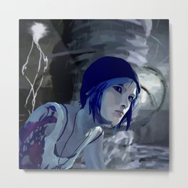 Chloe and The Storm Metal Print