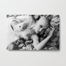 Dreaming All the While Metal Print