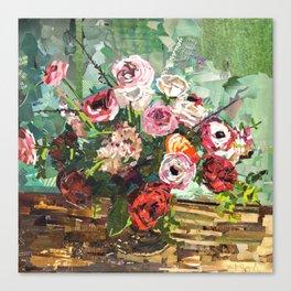 Tin Can Studio Floral 2 Canvas Print