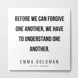 5     Emma Goldman Quotes   200602 Metal Print