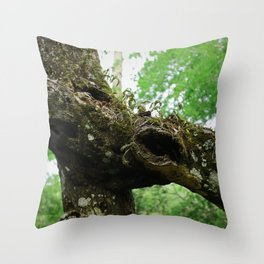 The Scars of Your Love Throw Pillow