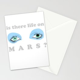 Is There Life On Mars? Stationery Cards