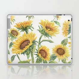 Blooming Sunflowers Laptop & iPad Skin