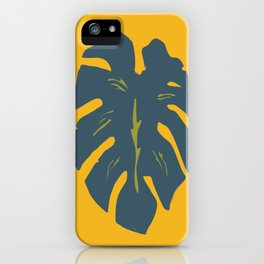 Gold Palm iPhone Case