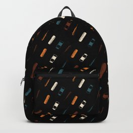 Vintage Vaccines - Small on Black Backpack