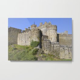 Cahir Castle in Ireland Metal Print