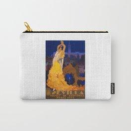 Spain 1933 Seville April Fair Travel Poster Carry-All Pouch
