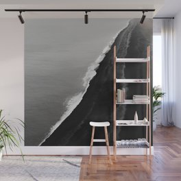 BLACK SAND BEACH Wall Mural