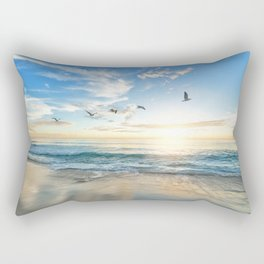 Beach Scene 34 Rectangular Pillow