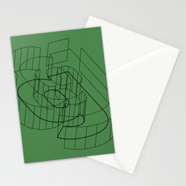 g like green Stationery Cards
